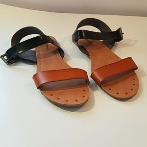 Mission Supply Co. Flat Strappy Sandals Size 8